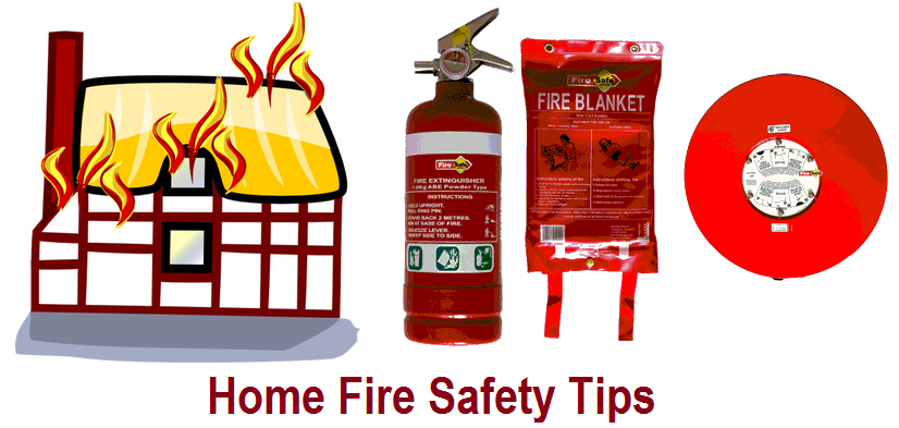Top tips for fire safety homeguardnetwork for Fire prevention tips for home